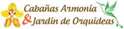 Mindo Ecuador Cabañas Armonia Logo